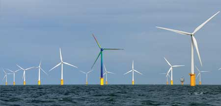 Figure 1. Digital twin representation of an offshore wind turbine