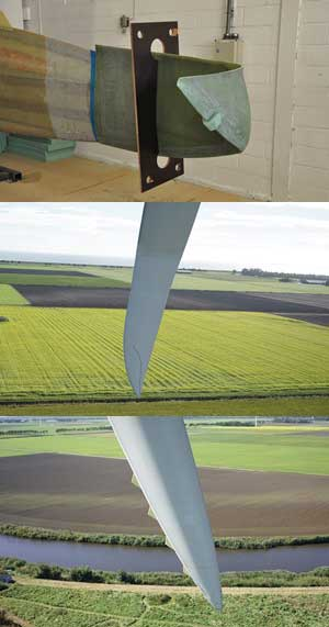 Innovative Blade Tips for Wind Turbines