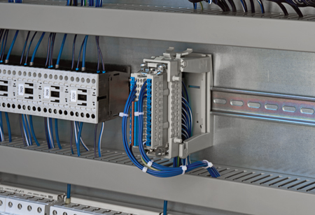 Connectors Simplifying Switch Cabinet Construction