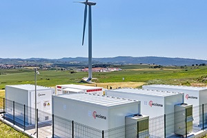 Acciona starts up hybrid wind power storage