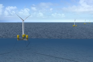 DCNS GE floating offshore wind