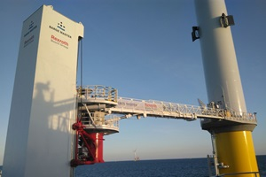 The 'Next Generation' Gangway installed on the VOS Start