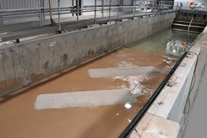 Berm scour tests conducted at HR Wallingford
