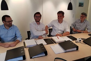 Bladt Northwester 2 contract signing