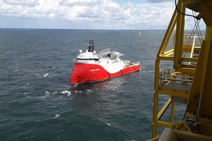DOC to supervise offshore cable laying at Trianel Windpark Borkum II (Copyright TWBII Bakker)
