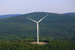 Mont Sainte Marguerite Wind power facility