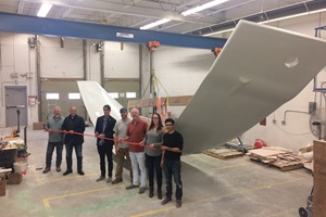 Biome Powercone 1st blade Ribbon Cutting