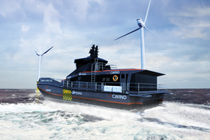 ESNA CWIND HYBRID Surface Effect Ship