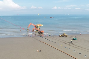 First Subsea Formosa 1 Phase 2 Beach pull
