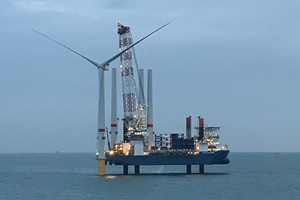 First turbine installed at Northwester 2 offshore wind farm