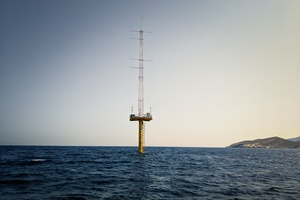 Float Mast deployed in Greece