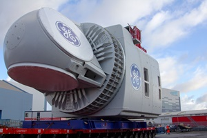 GE's Haliade X 12 MW nacelle arrives in the UK for testing