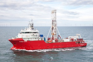 Geotechnical drilling vessel Fugro Scout