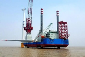 Jiangsu Dafeng offshore wind farm