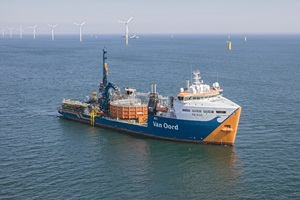 van Oord Nexus Cable laying vessel