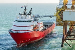 w2w vessel notus express of a1 and kenzfigee 3d gangway in operation 1