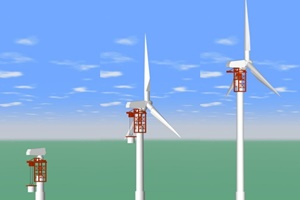 New onshore wind lifting system and tower