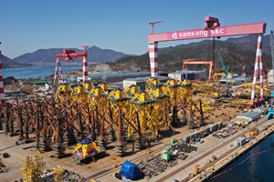 Completion of fabrication of foundations for Changhua Offshore Wind Farm