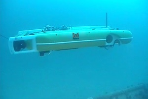 Hybrid AUV completes depth of burial survey at Gwynt Y Mor offshore wind farm