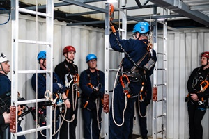 On-site GWO accredited training at the Maersk Training Paisley facility