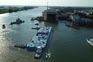 NKT is investing in a new specially designed barge built for cable transportation