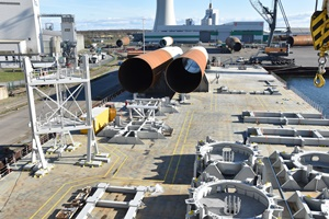 Roll Group assists in construction of US offshore wind farm