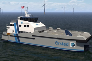 hybrid electric battery CTV orsted