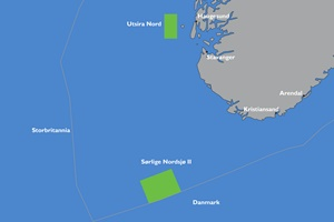 offshore wind areas Norway