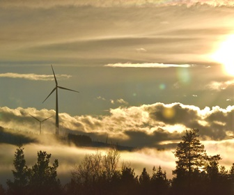 19 Siemens 3.0MW Direct Drive Mk I turbines installed in Sweden at the Mullberg windfarm courtesy Máté Levente Bocsi