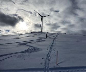 #3 Enercon E92 turbine operated by Energie Steiermark in Handalm Styria Austria (courtesy Karl Fatrdla)