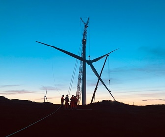 #20 Siemens Gamesa 3.2MW direct drive turbine installed at the 114MW Grousemount Wind Farm located in south east Kerry Ireland courtesy Maxime Buczek
