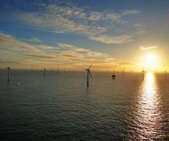 #46 Vestas V90 mk9 3MW turbines installed at Thanet Offshore Windfarm UK (courtesy Terry Law)