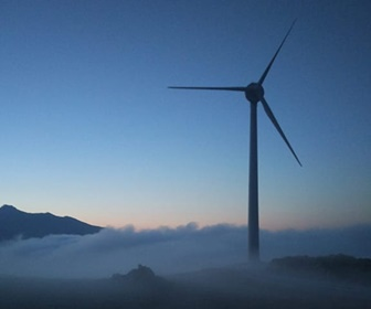 47 EWT DW52 900kW wind turbine with a hub height of 50 metres installed in Karystos Evia Greece